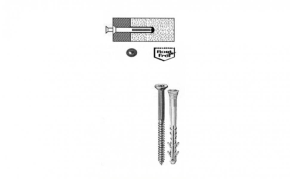 ANKER INOX VIJAK S PVC TIPLOM